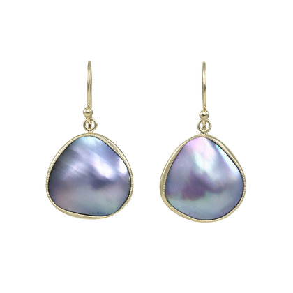 Juicy Mabe Pearl Dangles