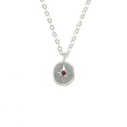 North Star Gemstone Necklace