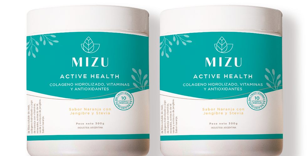 Combo Active Health - 2 potes 300 gr