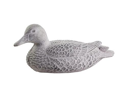 Grey Cement Duck