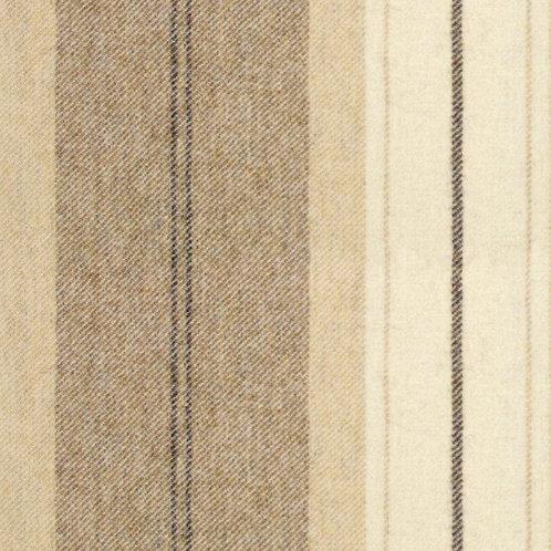 Wool Stripe Devon Fudge