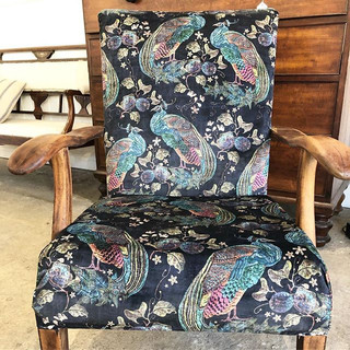 A beauty of a chair completed for a cust