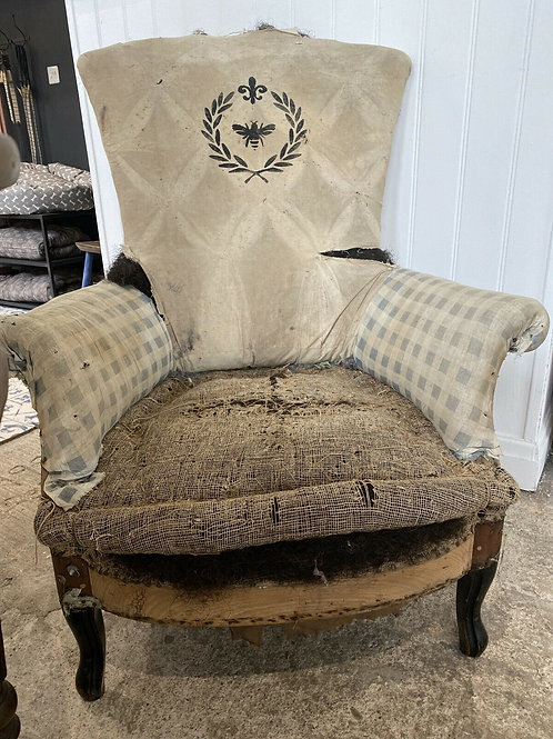 French Chair with Bee