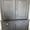 Thumbnail: French antique blue painted dresser