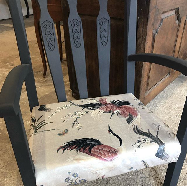 Just finished this gorgeous chair for my