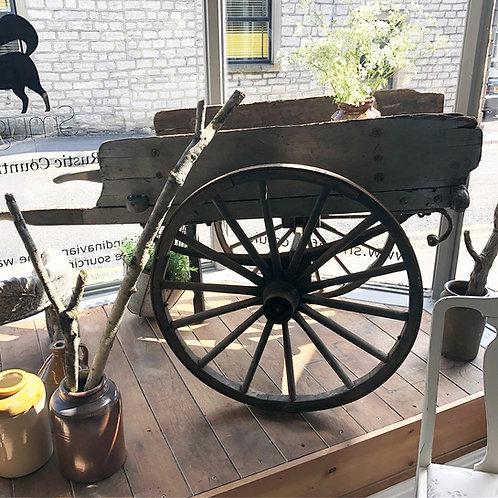 Vintage rustic cart