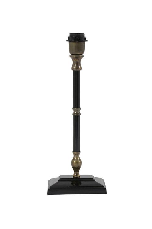 Black and Bronze Lamp Base