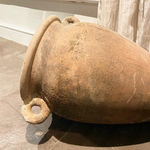 Large terracotta urn
