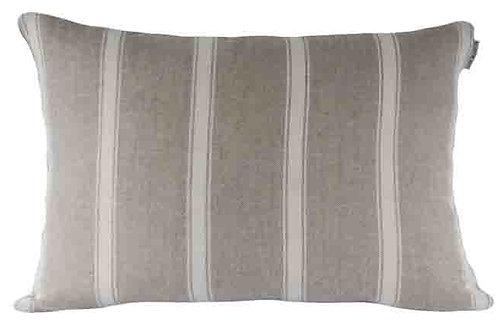 Angus Stripe Nordic Ivory Cushion 40cm x 40cm