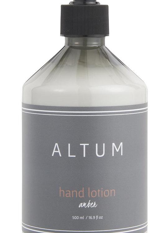 Hand lotion Altum Amber