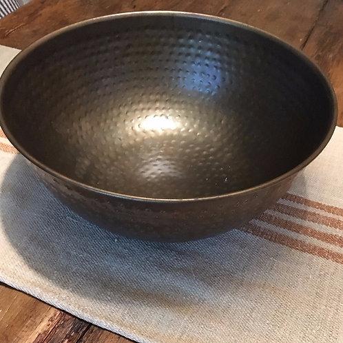 Antique bronze large bowl