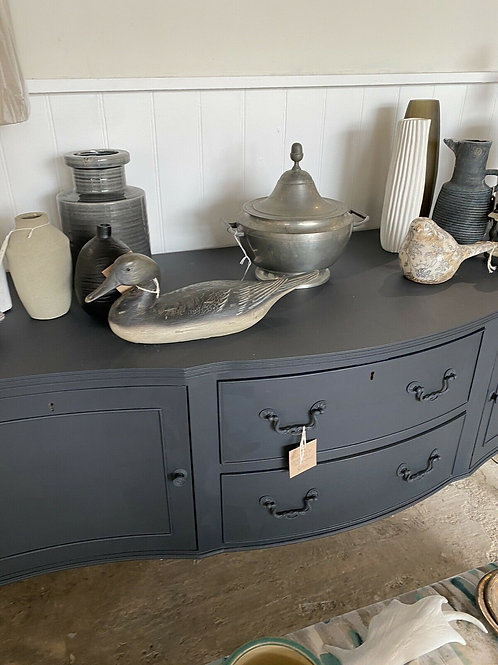Dark Blue/Black Sideboard