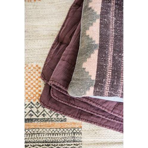 Dusky pink Cotton Quilt