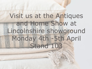 Come and see us at Lincolnshire Antique and home show