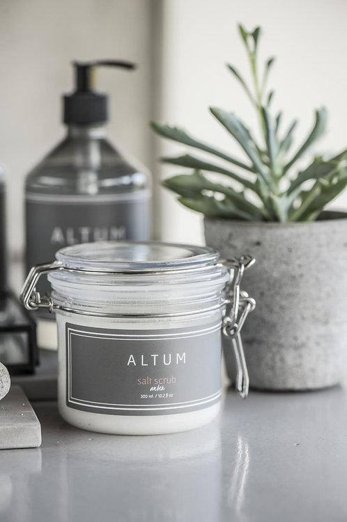 Altum Amber salt scrub