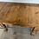 Thumbnail: Antique pine waxed extending kitchen table
