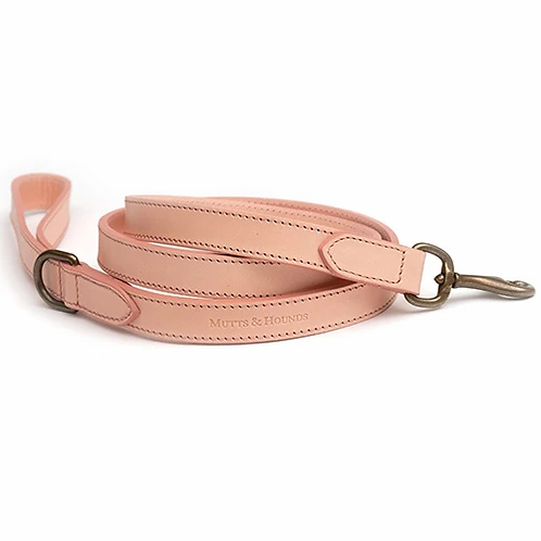 Rose Gold Leather Lead