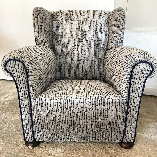 Finished this beautiful chair for a love