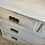 Thumbnail: Cream and blue painted chest of drawers