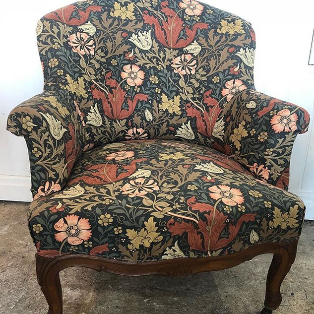Super proud of this upholstery job and t