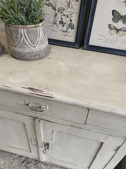 Painted cream larder style cupboard