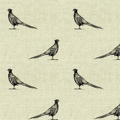 Black and Natural Pheasant Print