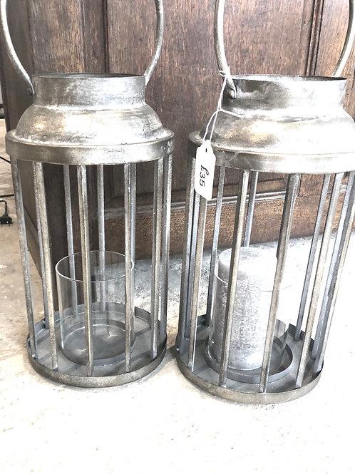 Zink cage lanterns