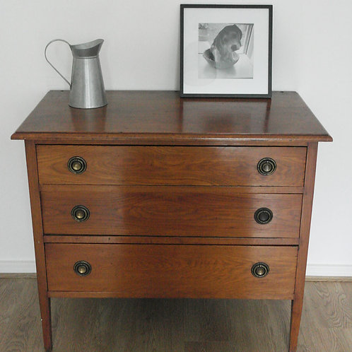Antique chest of drawers solid wood 3 drawers