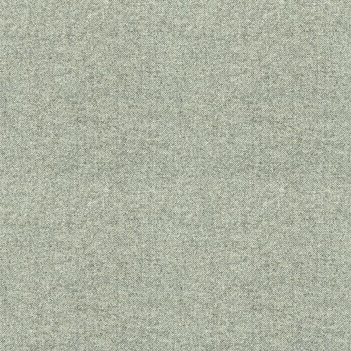 Wool Herringbone Teal