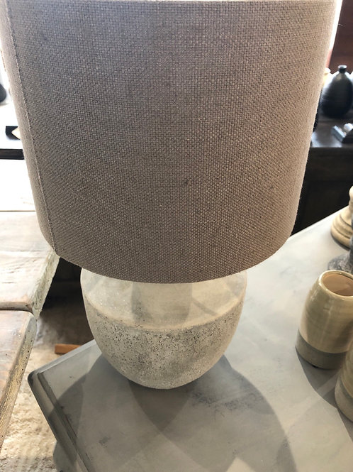 Small natural lampshade