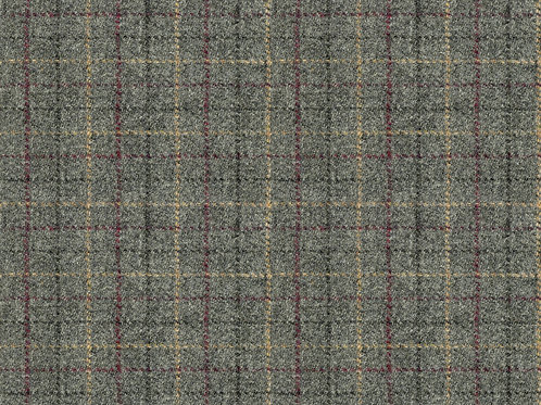 Harris Tweed Huntsman Check Grey