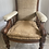 Thumbnail: Antique carved chair ready for upholstery