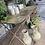 Thumbnail: Antique french metal garden table