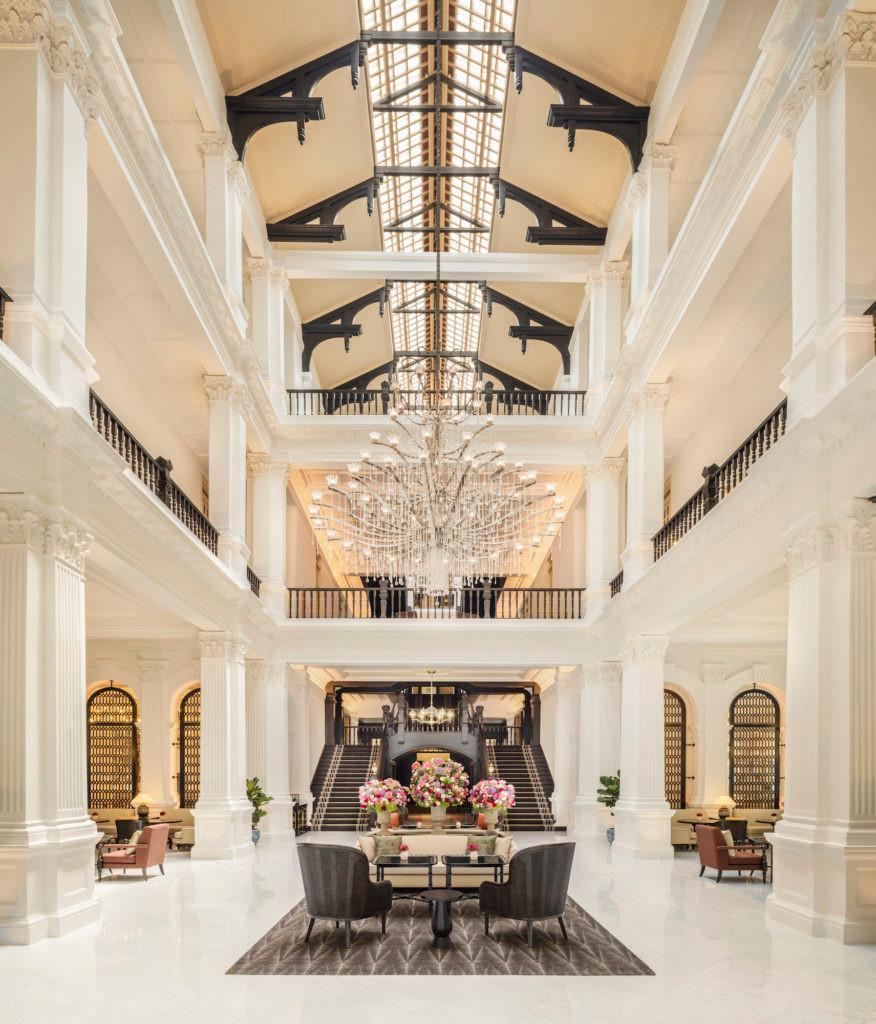 Raffles Hotel Main Lobby