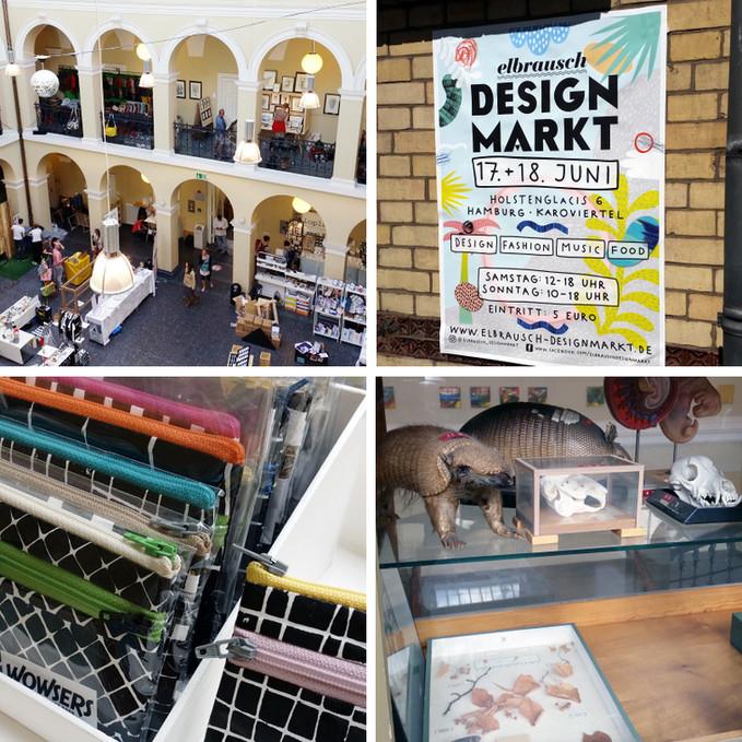 Rückblick: Elbrausch Designmarkt in Hamburg
