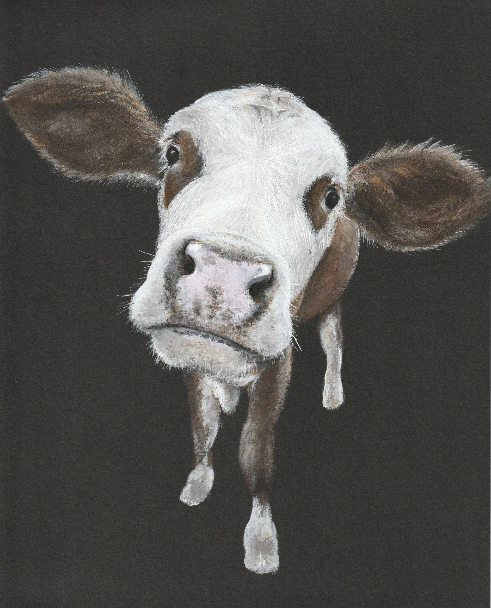 Portrait of a cow (sold)