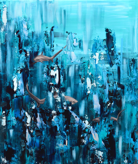Out of the blue (sold)