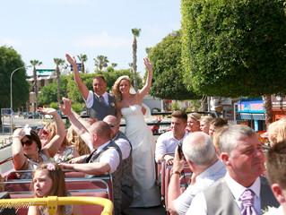 Peyia town Hall wedding