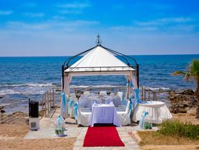 wedding at kefalos beach village   dcphotoprint