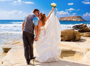 ayia Thekla beach wedding cyprus