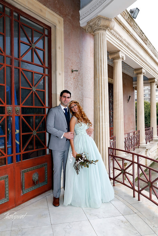 Beautiful bride and groom posing after the wedding in nicosia town hall | professional Bridal wedding photographer nicosia, cheap wedding nicosia photographers, cheap wedding nicosia photographer