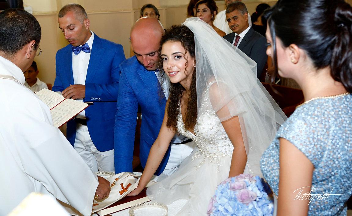Wedding ceremony inside of the  St Joseph church in Larnaca,Cyprus | civil marriage hall larnaca , lebanon wedding photography  by the beach limassol, lebanon wedding photography  by the beach larnaca