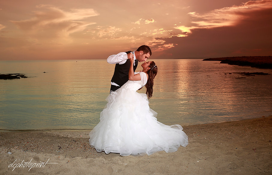photoprint cyprus are the one of the leading  specialist  beach  wedding photographers  in ayia napa  providing amazing wedding fotography for your big day | beach weddings