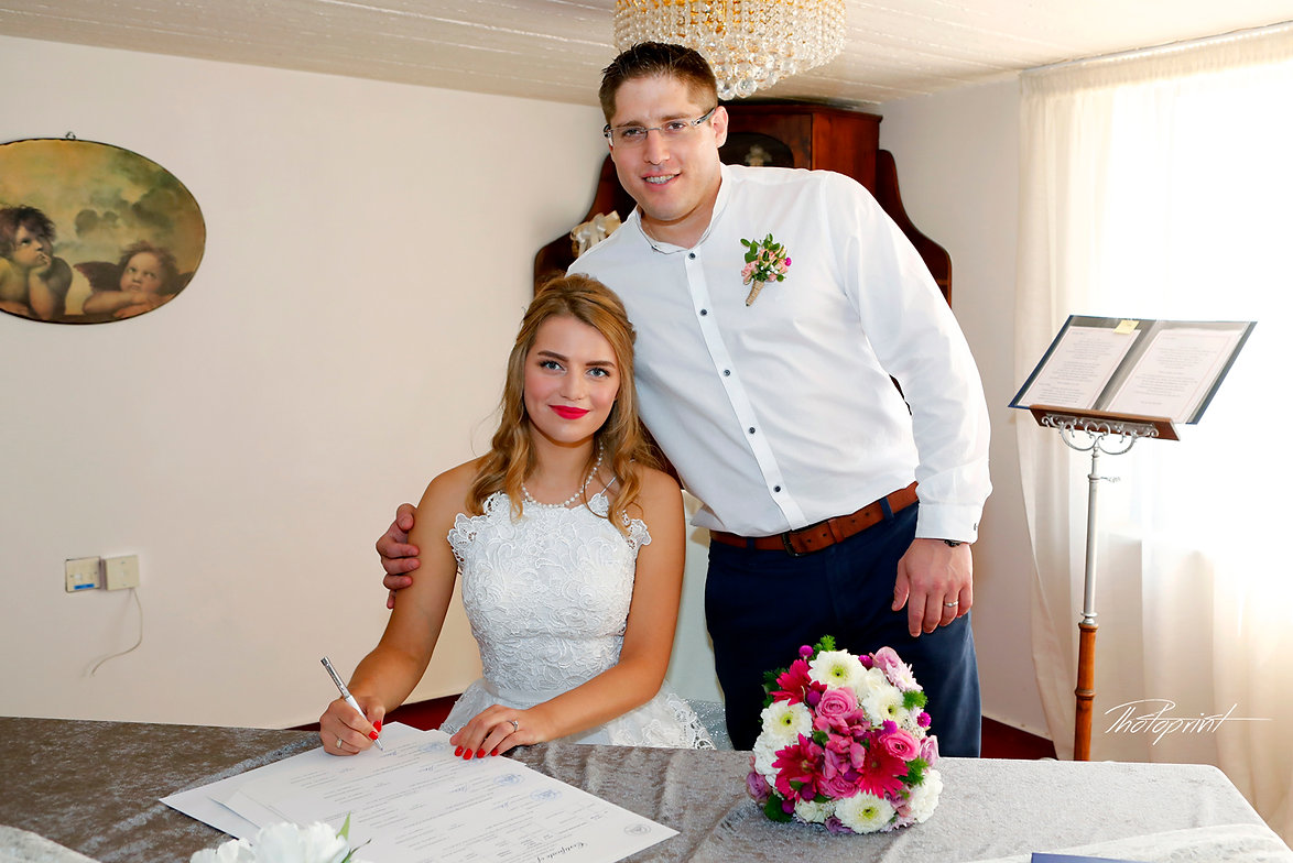 Bride signing marriage license | best professional ayia napa photographer,wedding photographres in ayia napa cyprus, ayia napa images