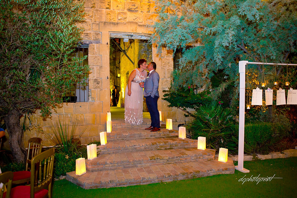 Beautiful wedding reception, outdors wedding reception venue with decor | married in paphos municipality cyprus,city town hall marriage at paphos