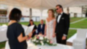 Bride and Groom on Wedding Ceremony  in Golden Bay hotel, Larnaca cyprus.  lebanon wedding ceremony in cyprus, amous photographer for lebanese weddings, best photographers in beirut lebanon, best photographers for beirut lebanon, larnaca wedding venues, Larnaca municipality weddings, larnaca Aradippou municipality weddings, Aradippou - Larnaca Municipality wedding photographer, Beach wedding reception venue in Larnaca | photoprint cyprus