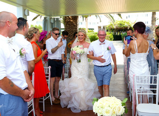 Nissi beach resort wedding photographer