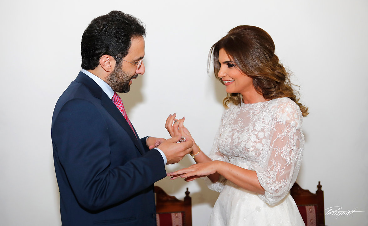 He Put the Wedding Ring on Her in the wedding ceremony in Yermasoyia Municipality | photo photography in Yermasoyia, Limassol, photography prices photographers cyprus
