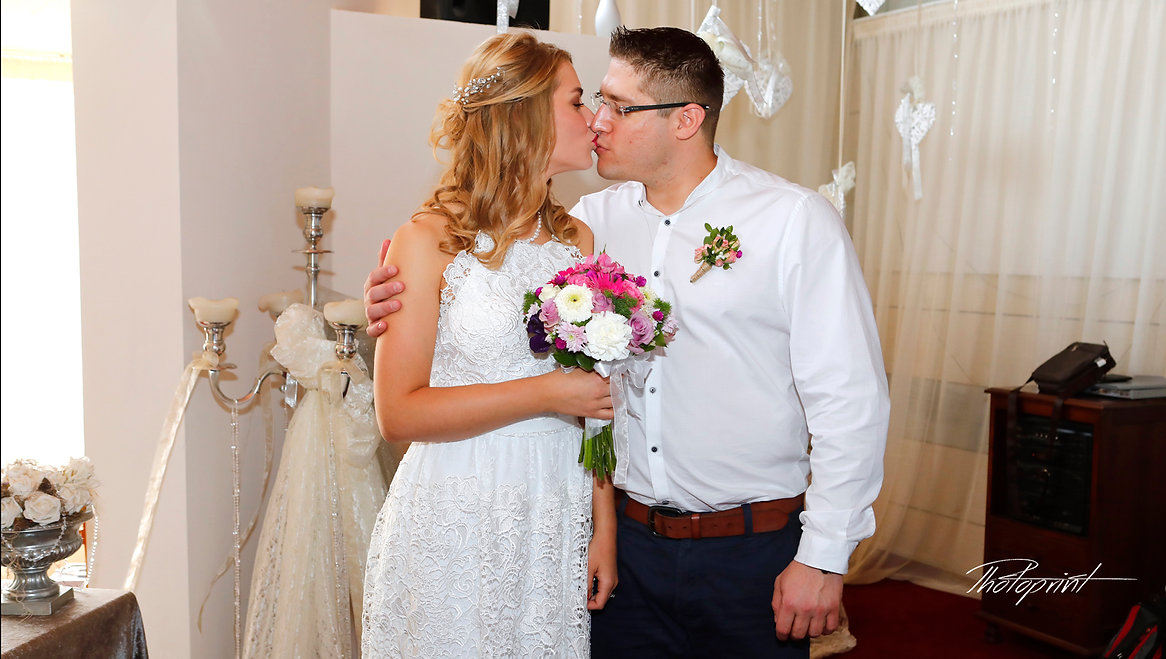 Elegant beautiful Just married Kissing couple wedding portrait | Getting married in ayia napa Cyprus, Cyprus best wedding photographer Ayia Napa, ayia napa wedding photography abroad