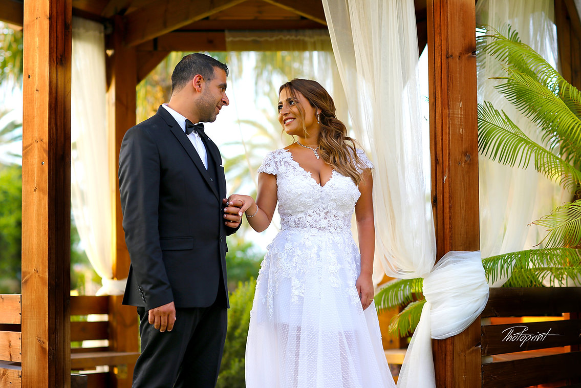 Jad and Laurence's  Wedding from Lebanon in Amazing Photo Shooting  at   Palm Beach Hotel larnaca, Cyprus